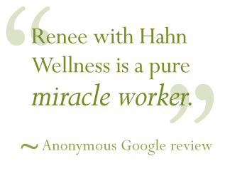 Massage Therapy Testimonial Renee Hahn